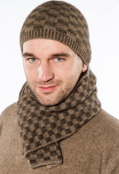 Korbmuster-Schal